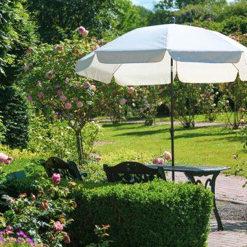 Wybieramy parasole ogrodowe