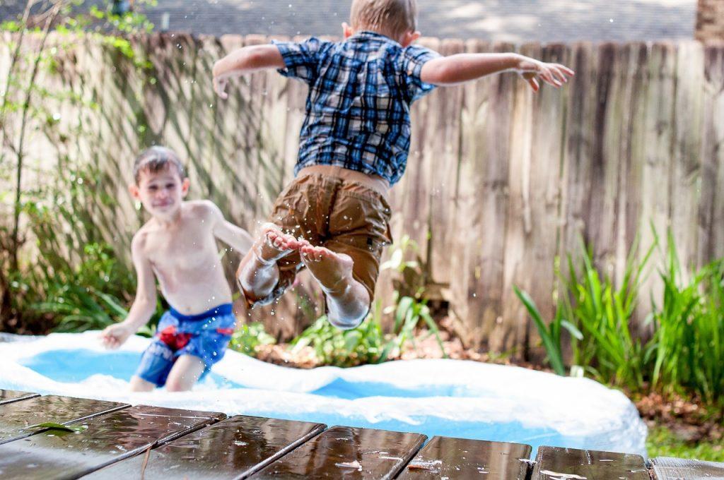 basen dzieci