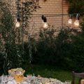 Girlanda ogrodowa solarna. Sposób na klimatyczny wieczór.
